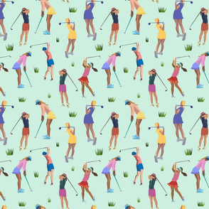 Golf Girl - mint - medium