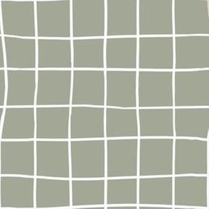 Grid Olive Check