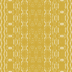 Mud cloth 5 Mustard (medium scale)