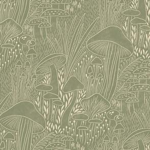 Hidden place moss