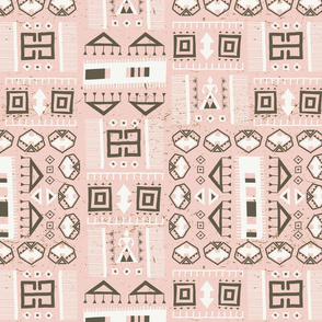 Kilim Love Pink (small scale)