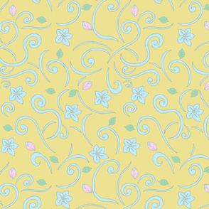 Curly Whirlies In Yellow