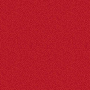 tiny squiggle Turing texture #7 - ruby red