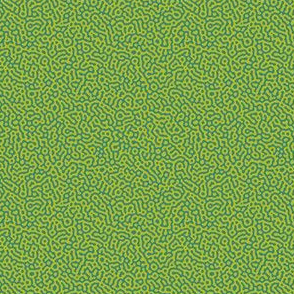 tiny squiggle Turing texture #7 - teal and wasabi