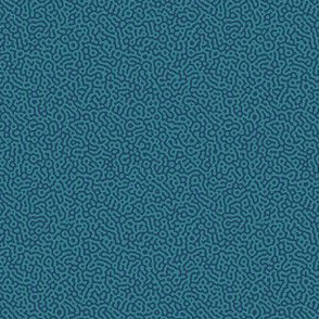 tiny squiggle Turing texture #7 - navy and teal