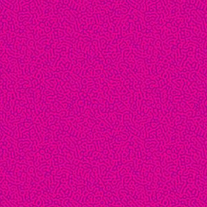 tiny squiggle Turing texture #7 - hot pink and purple