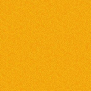 tiny squiggle Turing texture #7 - karmic yellow and orange