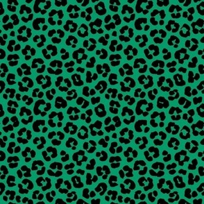 St. Patrick's Day Green Leopard