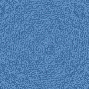 tiny checkered mudcloth texture 4 - twilight blues