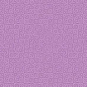 tiny checkered mudcloth texture 4 - twilight mauve