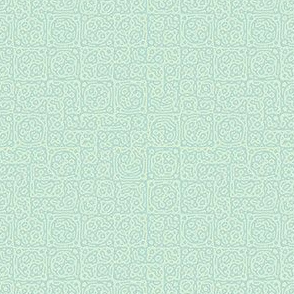 tiny checkered mudcloth texture 4 - pale mint