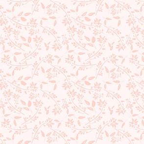 3C feminine romantic pink fauna tonal girly nursery TerriConradDesigns