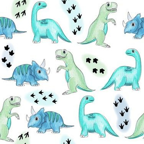 Dinosaur blues- small