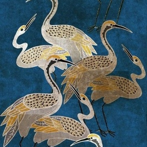 Deco Cranes - Sapphire - Large Scale