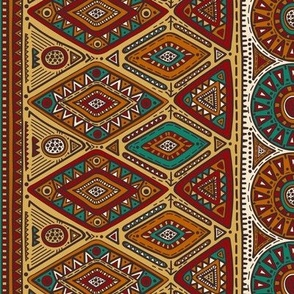 Old World Bohemian Tapestry