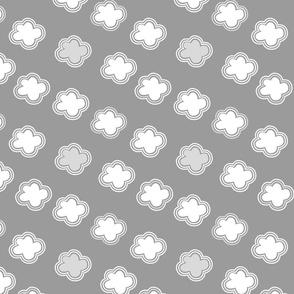 Cloud crowd - grey