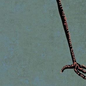Deco Cranes - Shrimp Cocktail - Large Scale