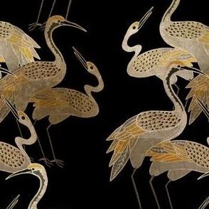 Deco Cranes - Onyx - Medium Scale