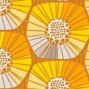 Sunflower field / Medium scale