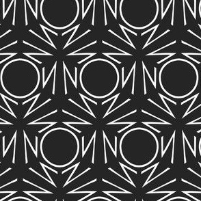 "Monochrome ""NO"""