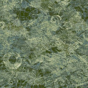 abstract_textured_olive_green
