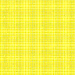 Ice Cream Social :: Banana Split :: Check :: Yellow