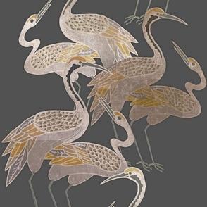 Deco Cranes - Smoke - Large Scale