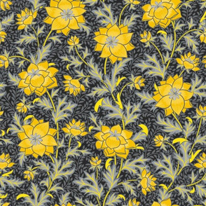 floral Pantone 2021 (dark bk)