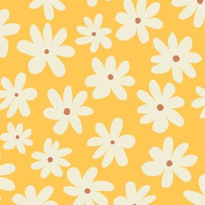 Pretty Flowers - Yellow