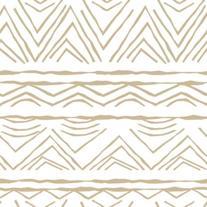 pattern with random rough, twisted part of triangles or broken line shapes on white background