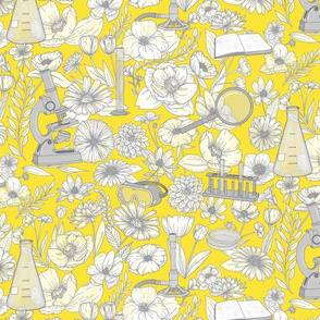 Beautiful Science - Yellow and Gray