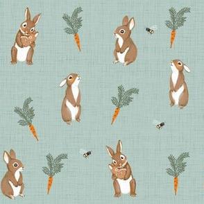 Bunnies-mint