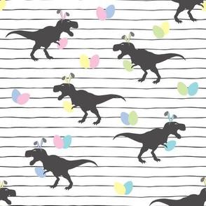 Easter Dinosaur Bunnies