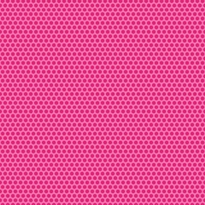 Dotty Details - Red on Pink