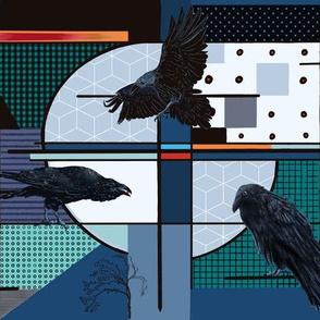 Patchwork Raven Lore