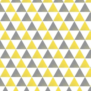 HSH Triangle Yellow Grey