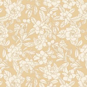 Gardenia blooms - Honey