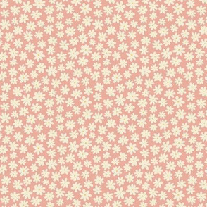 Pretty Flowers (microprint) - Pink