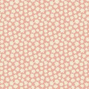 Pretty Flowers (microprint) - Pink