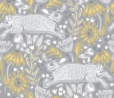Cottontail, Gray- Large