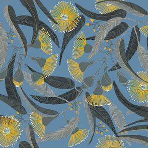 Slate Blue Eucalpytus