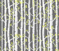 Birch Yellow Bird