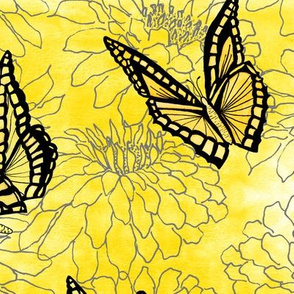 Butterfly Blossoms - Large Scale