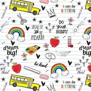 Back To School Doodles