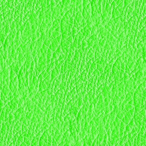 Neon Green Leather Texture