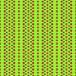 Ladybug Stripes and Dots