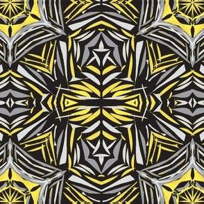 Sunlit Webs on Charcoal (#6) - Medium Scale