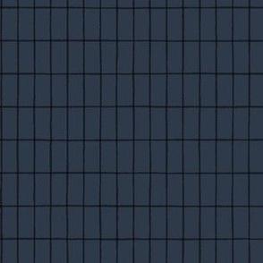 Dark Long Plaid