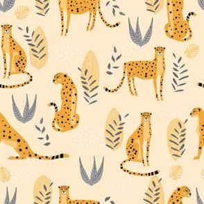 cheetah on a summer day