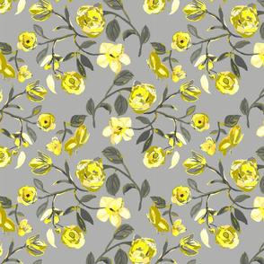 Gray _ Yellow Garden Medium